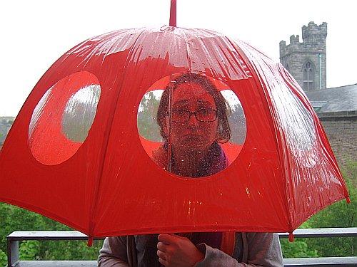 aoife in the rain