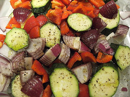 veg uncooked