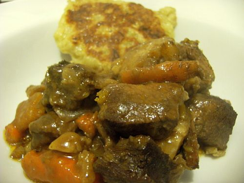 stew and boxty yumminess