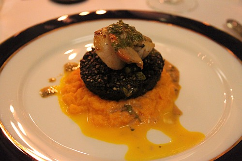 black pudding main course