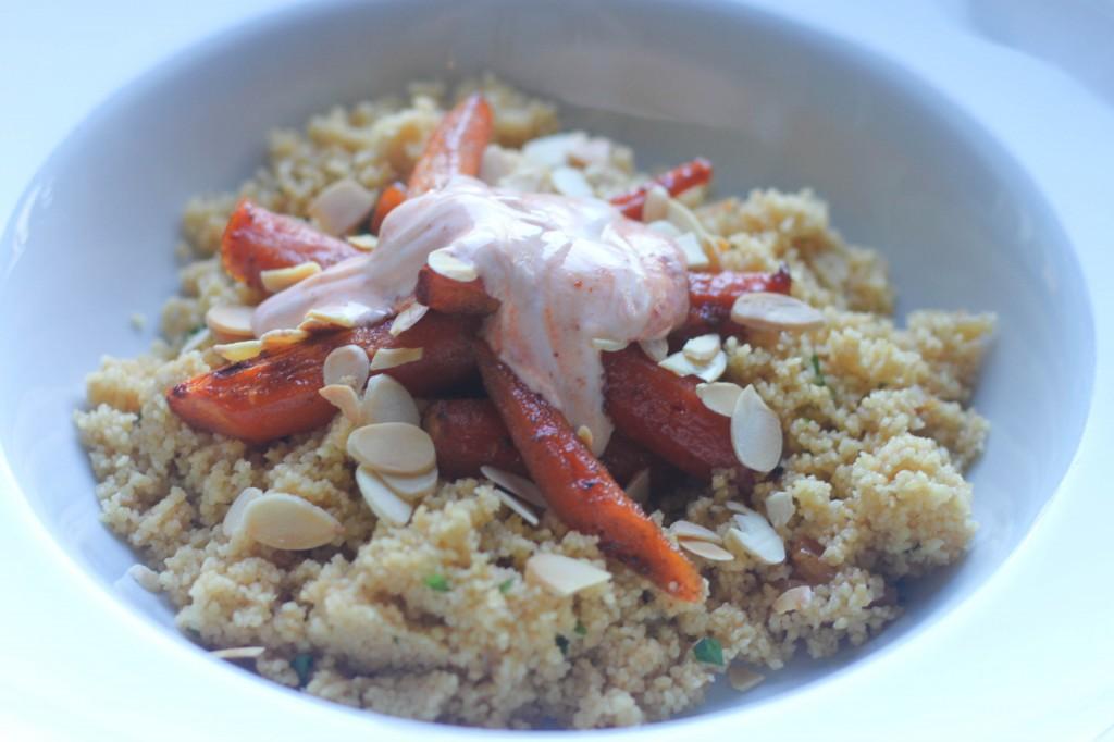Honey & Cumin Carrot Couscous