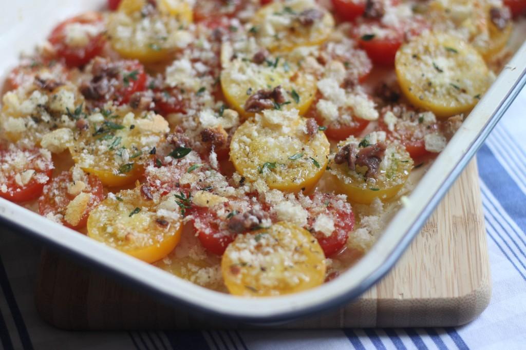 Crispy Slow Roasted Tomato Pasta
