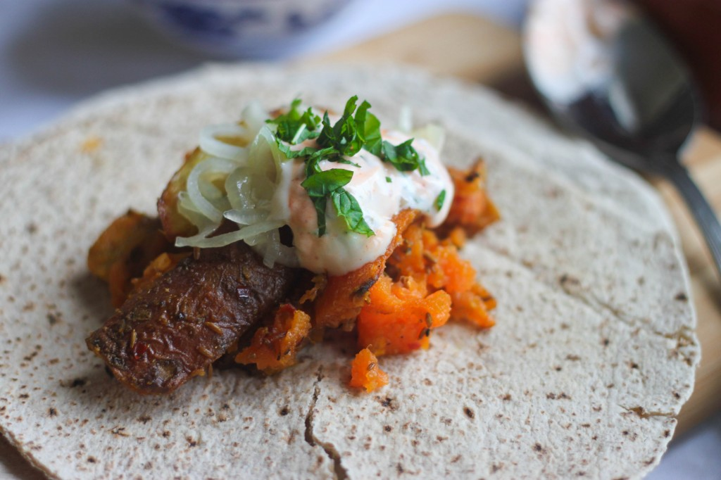 Indian Spiced Chapatis-2