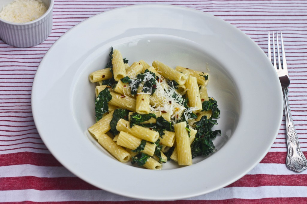 Kale and Anchovy Pasta-2