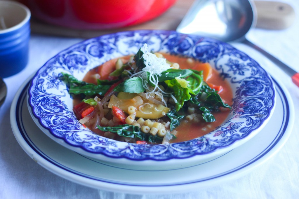 Minestrone Style Soup