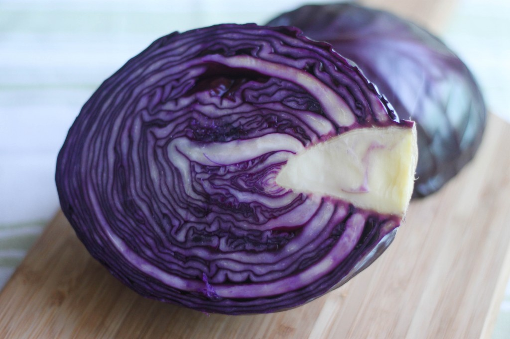 Red Cabbage Sausage Bake-2