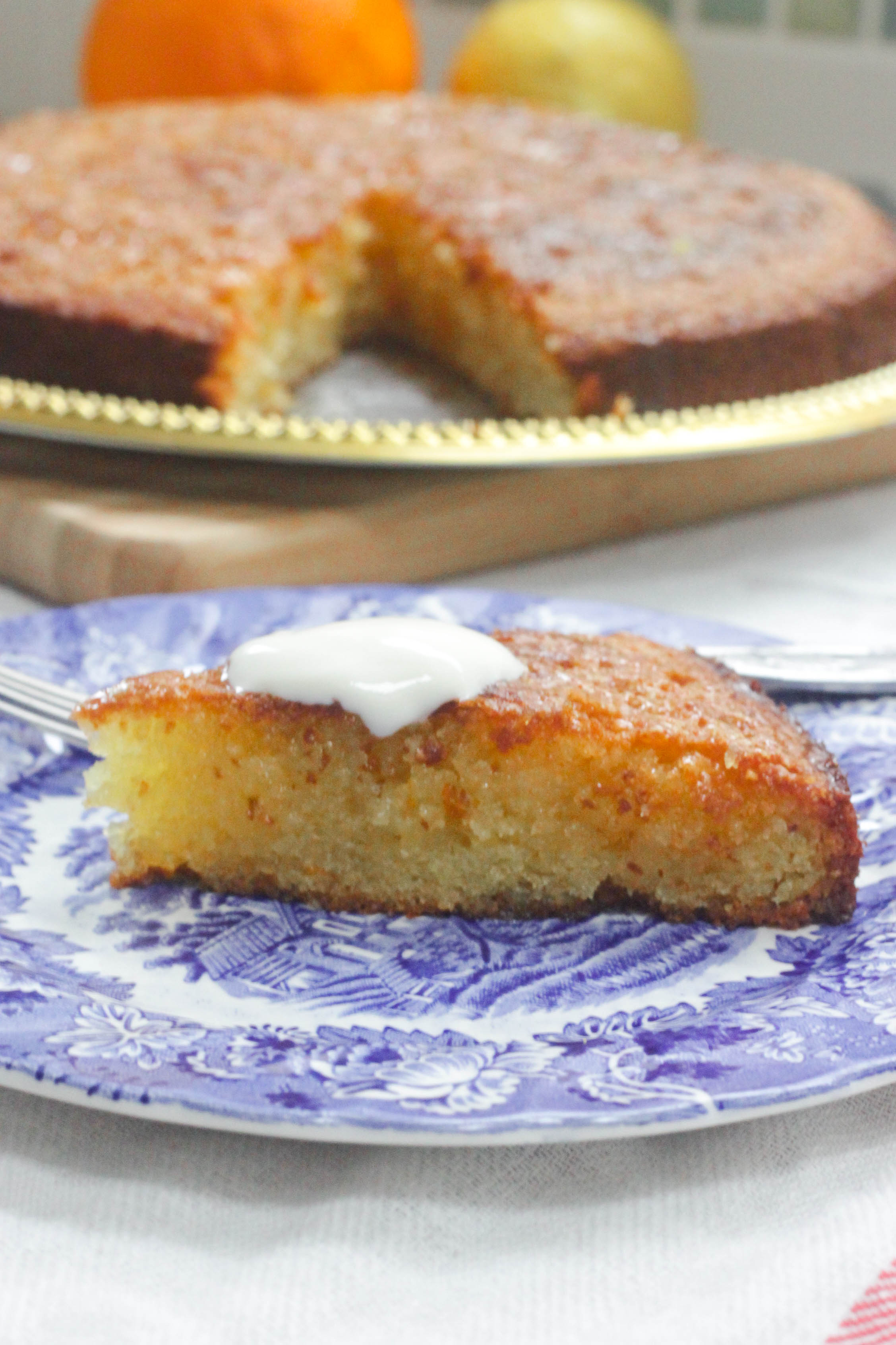 Tunisian Orange And Almond Cake