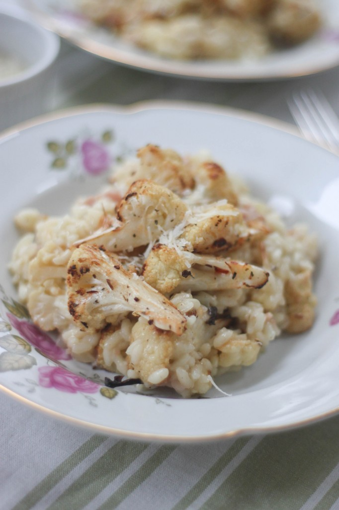 Roasted Cauliflower Risotto-6