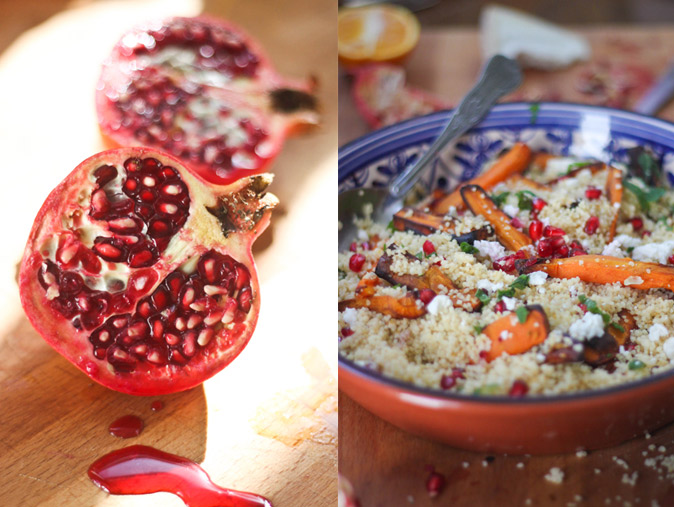 Pomegranate-and-Couscous